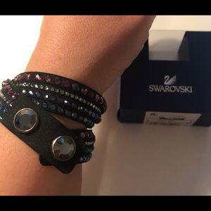 Swarovski Wrap Bracelet - Multi-coloured